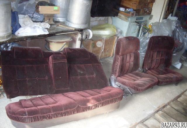 Комплект велюровых сидений