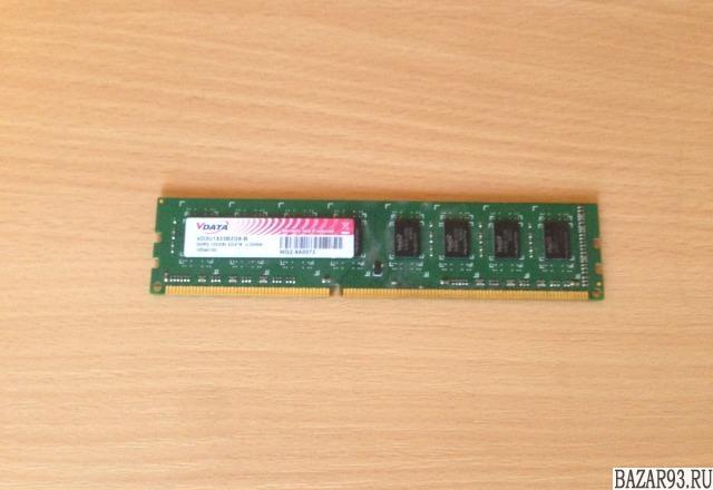 Память 2048Мб DDR3 PC-10666(1333Mhz)