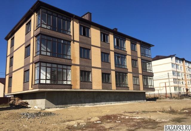 Продам квартиру в новостройке 1-к квартира 53 м² на 2 этаже 3-этажного монолитно