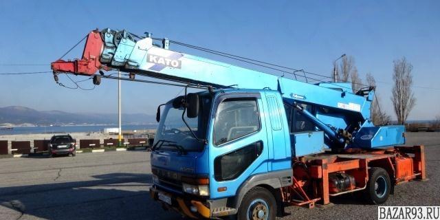 Японский автокран 5 тонн.  22 метра