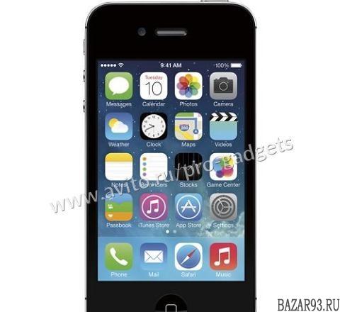 iPhone 4S Black 8Gb A1387 Как новый