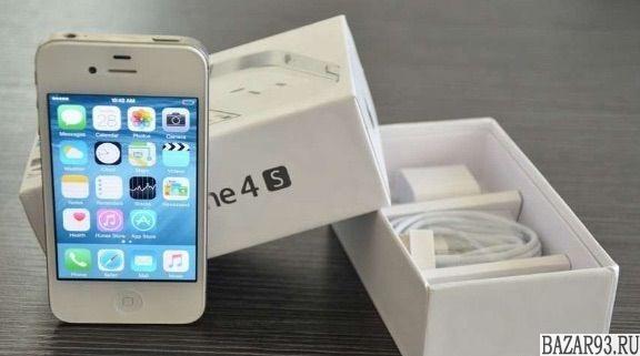 Новые iPhone 4S White 64GB A1387