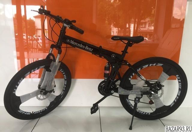 Новый велосипед Mercedes-Benz Black
