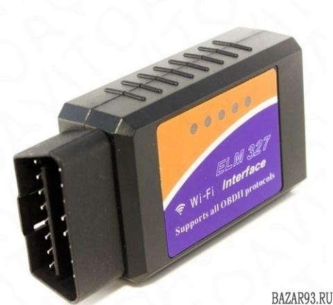 Адаптер OBD-II Elm327 Wi-Fi диагностика авто
