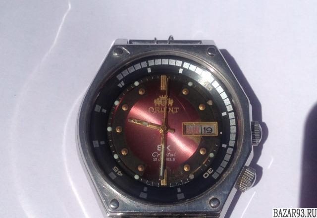 Часы ориент механика