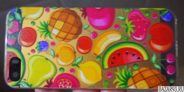 iPhone 5 силикон Фруктовое Ассорти