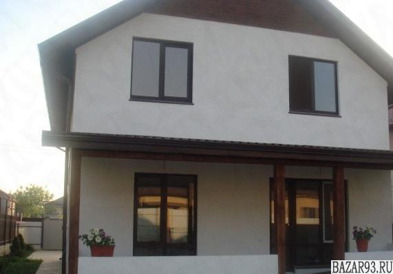 Продам дом 2-этажный дом 150 м² ( пеноблоки )  на участке 6 сот.  ,  в черте гор