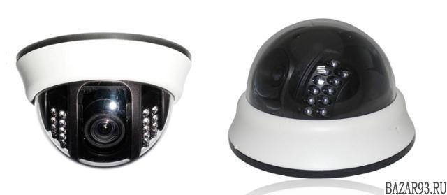 Сферические купольные IP и AHD камеры 960p