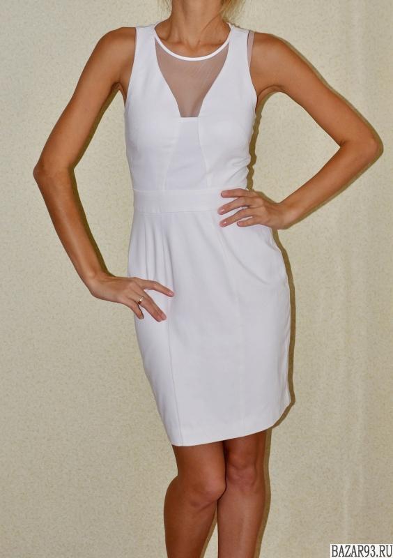 Стильное белое платье INCITY