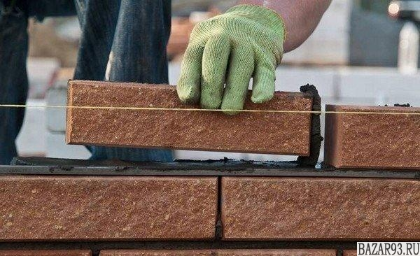 Каменщик с большим опытом работы