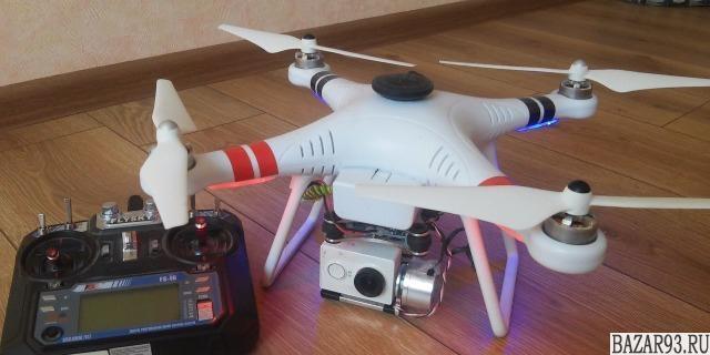 Квадрокоптер с подвесом для камеры