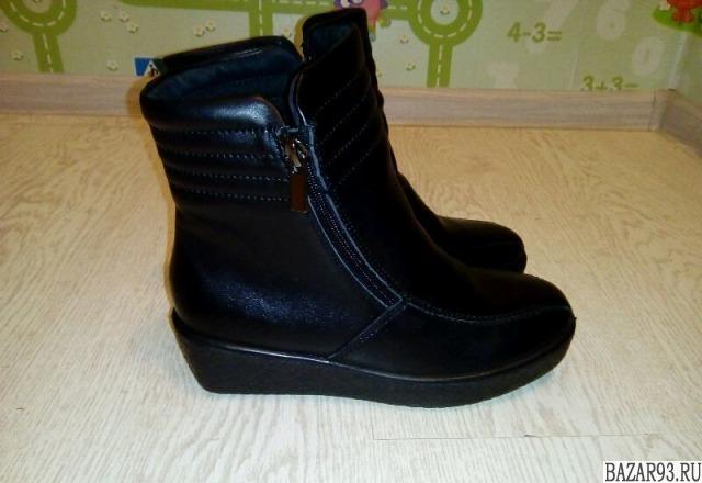 Новые зимние ботинки 36