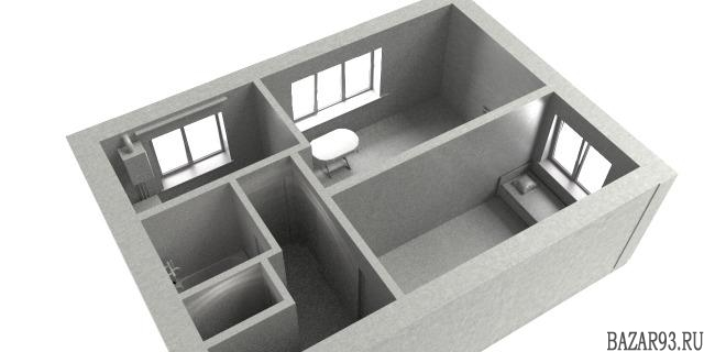 Продам квартиру 2-к квартира 42 м² на 2 этаже 2-этажного кирпичного дома