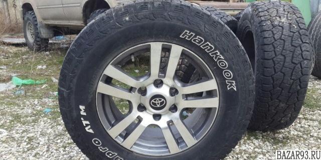 Колеса Toyota Land Cruiser Prado Hankook