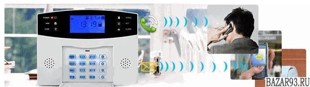 Сигнализация GSM SIG001